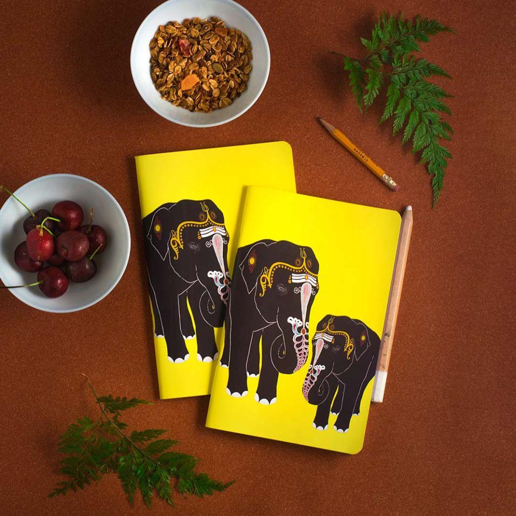 Temple Elephant Notebook