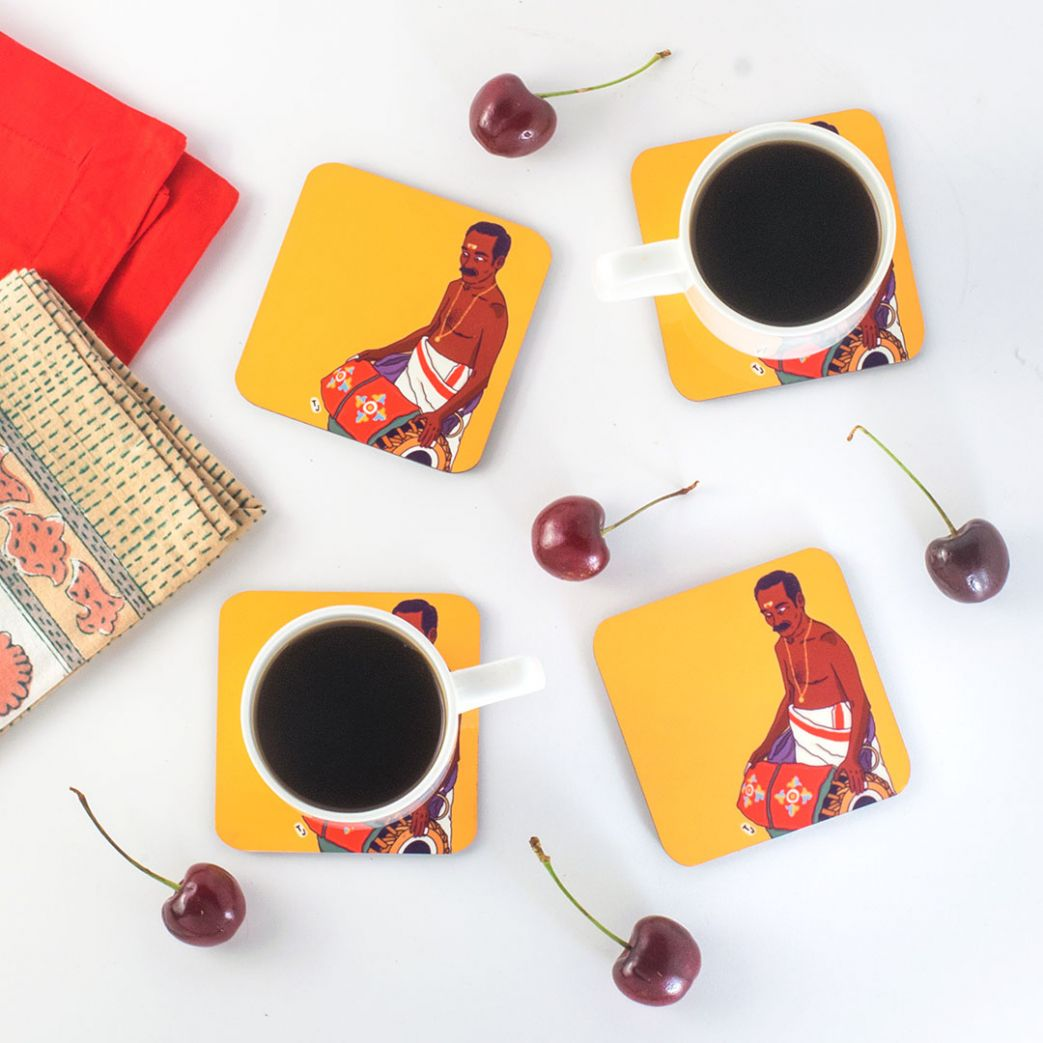 Madhalam Coasters