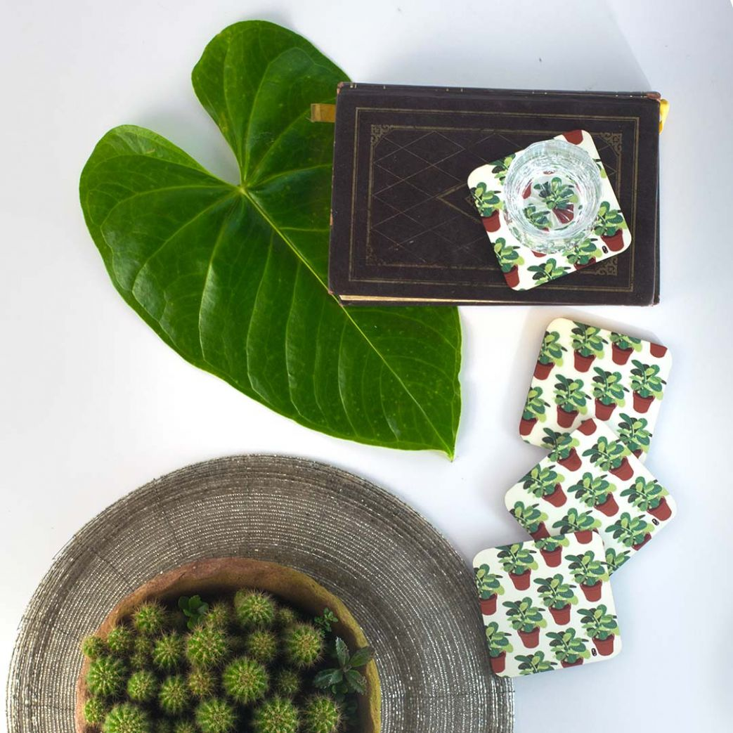 Plant Lover Coasters