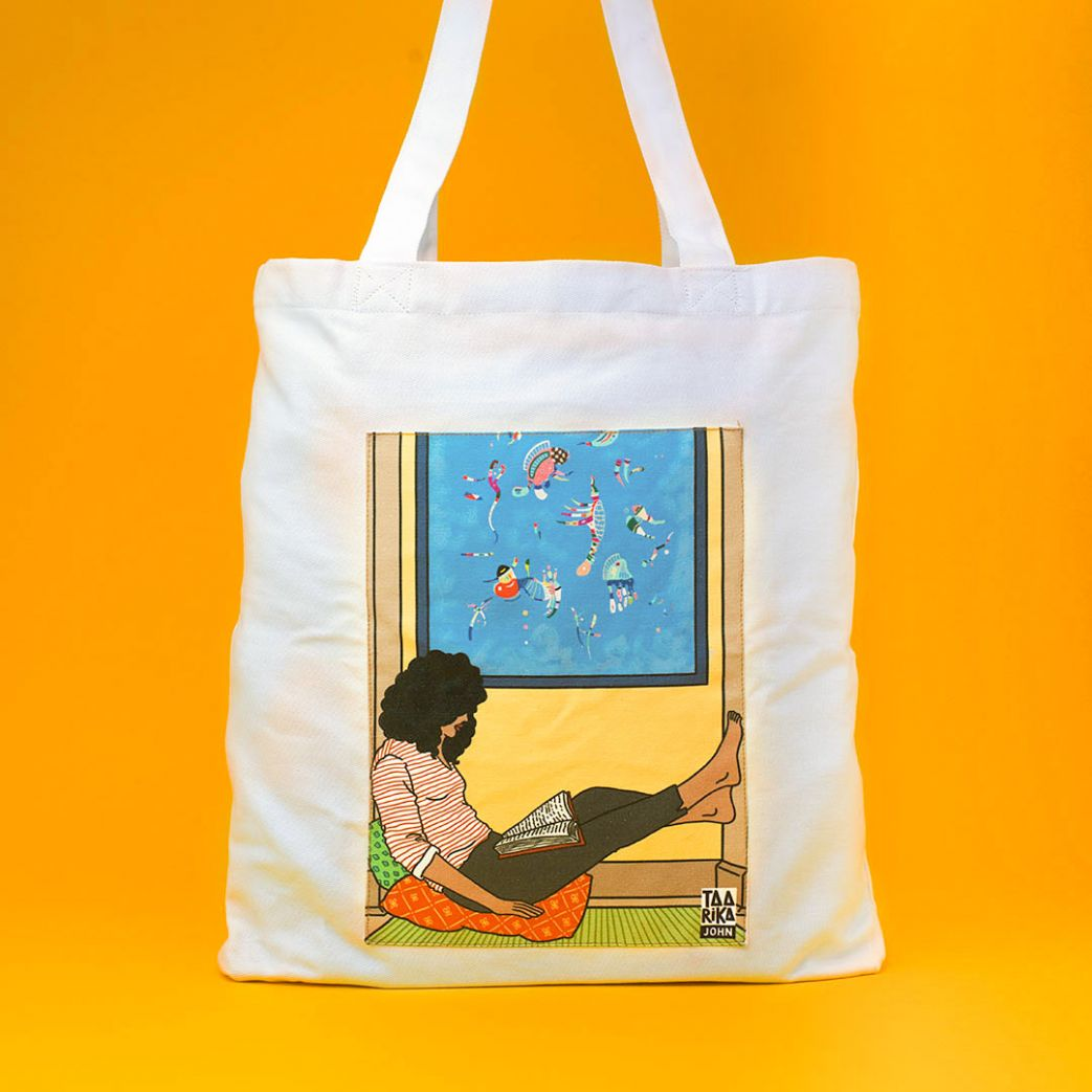 The Reader II Tote Bag